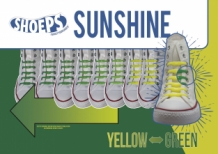 SHOEPS SUNSHINE ALERT YELLOW-GREEN